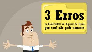3 erros