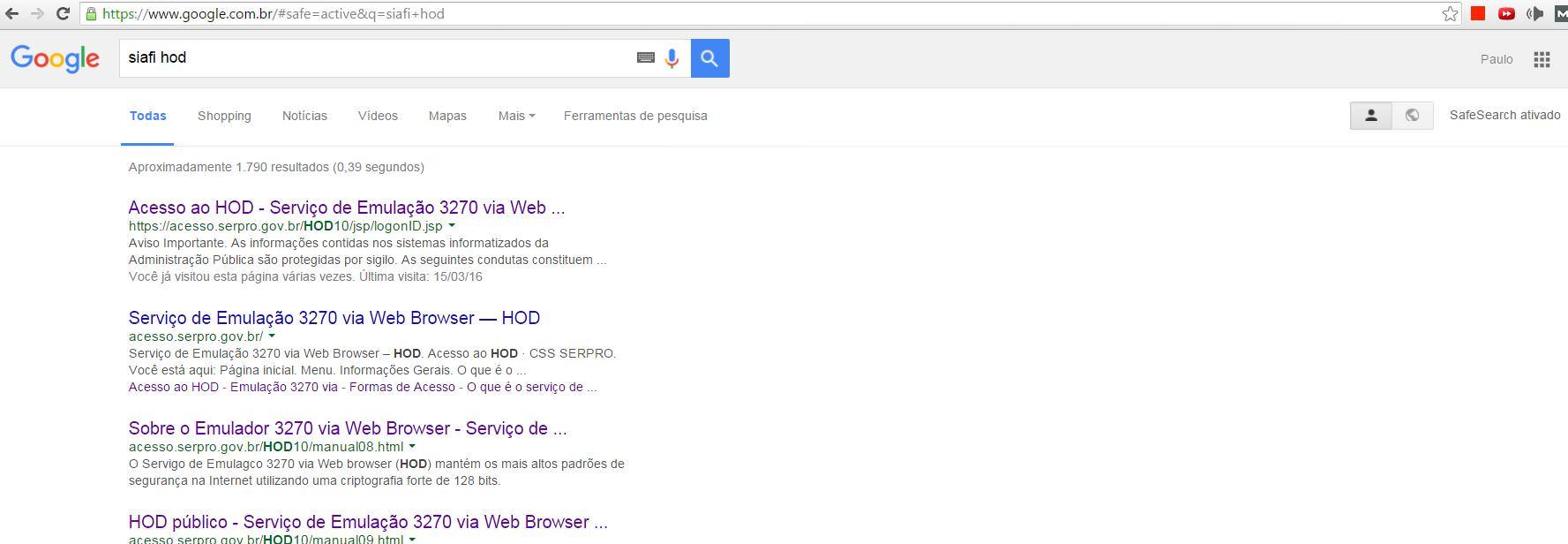 google siafi